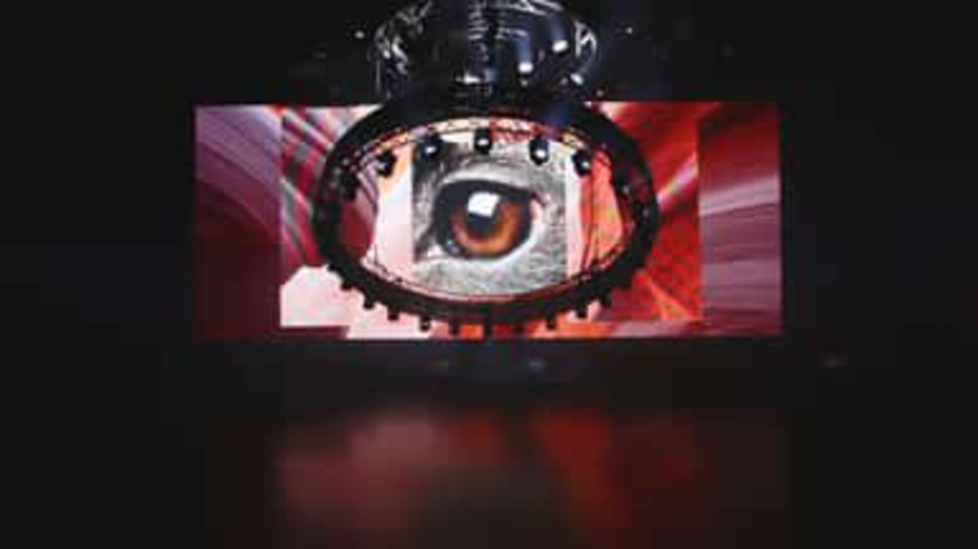 Birth -Video Installation for Live Entertainment Expo-