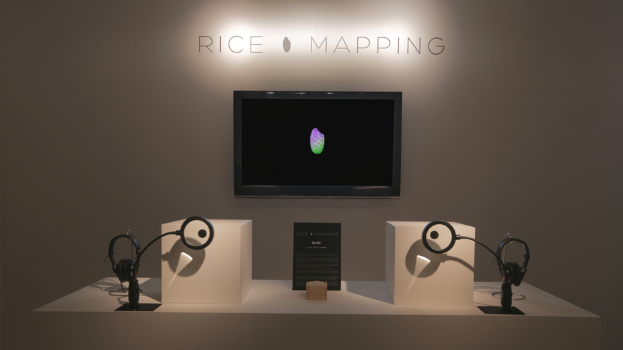 『RICE MAPPING』in milano salone